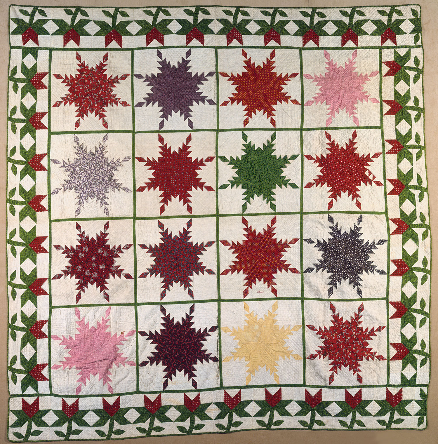 Surprise Quilt Presented to Mary A. Grow