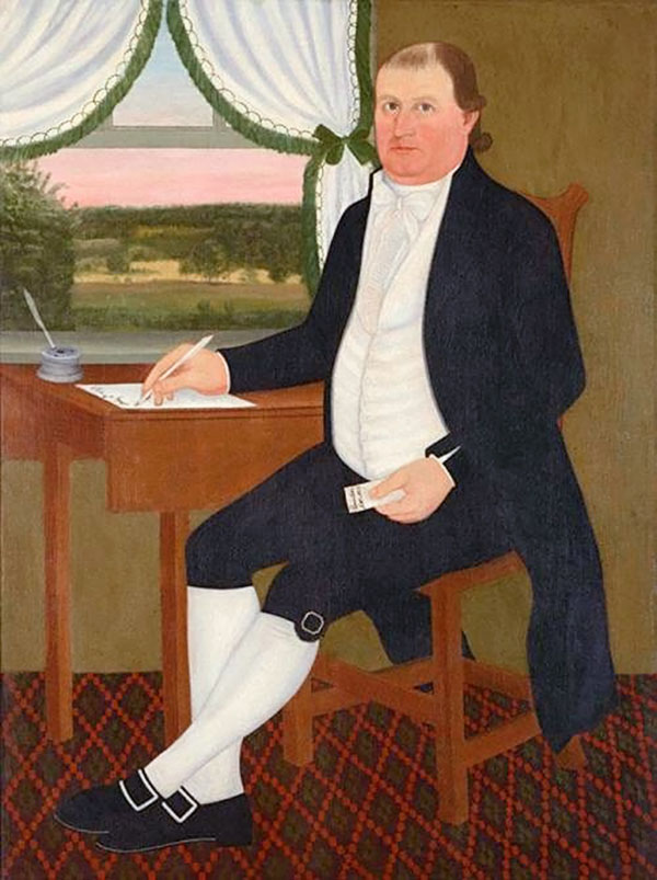 painting of James Eldredge