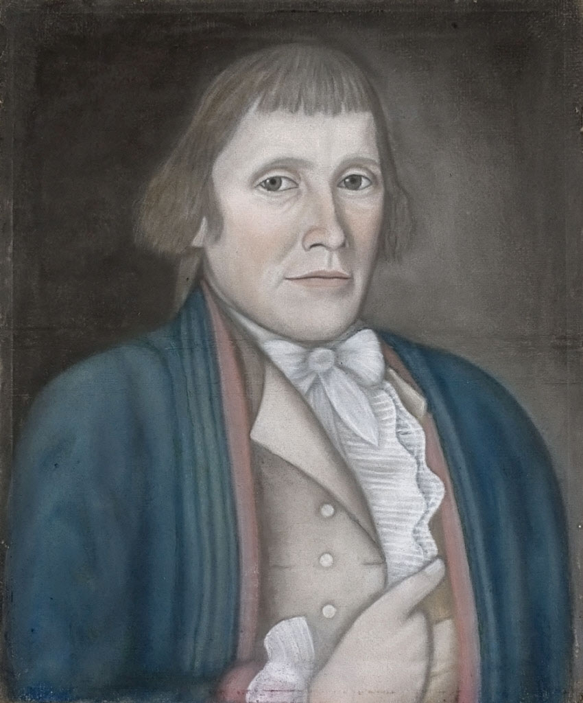 painting of Alpheus Hatch