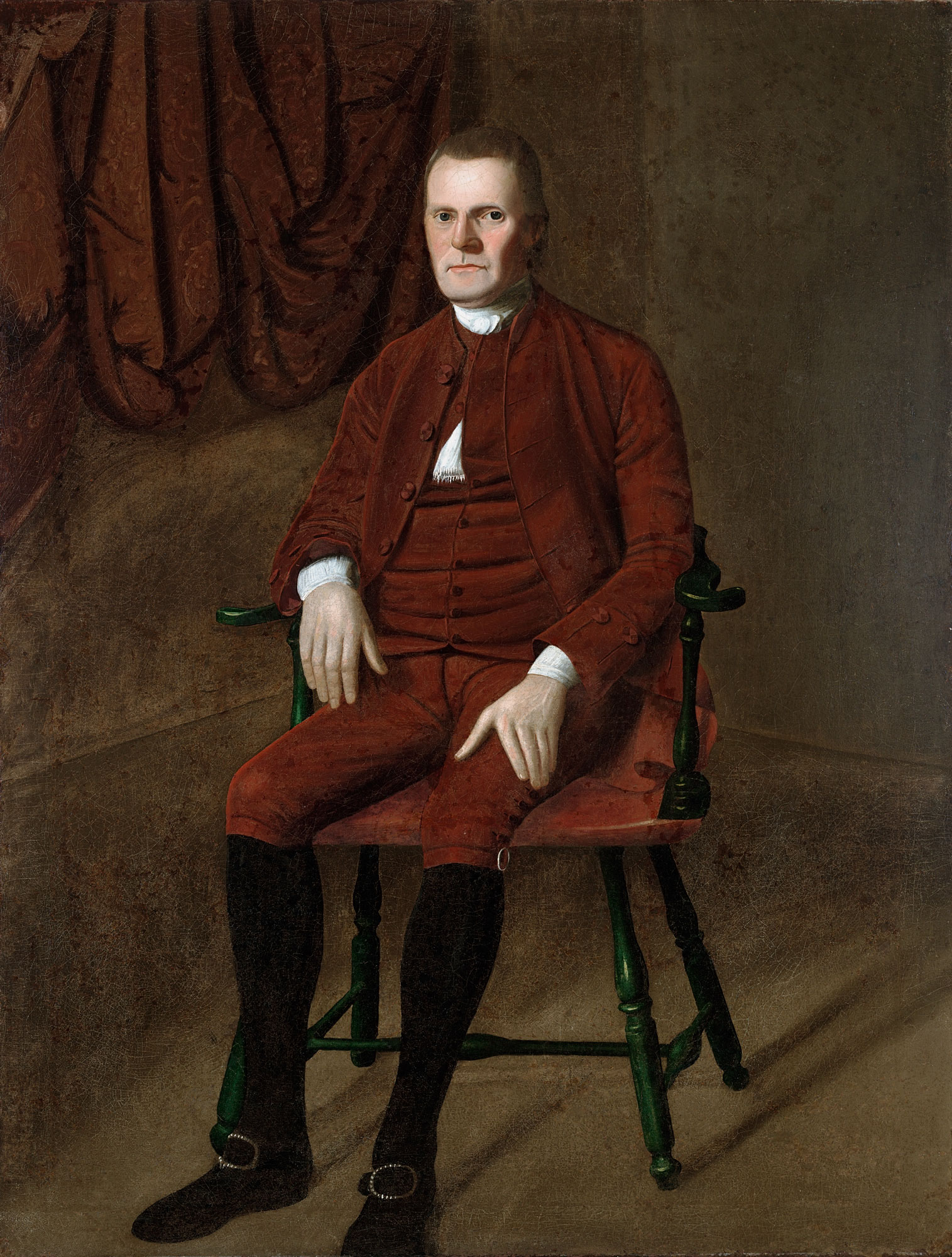 Ralph Earl (1751–1801), Roger Sherman, c. 1775, oil on canvas