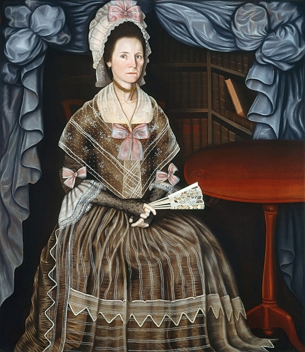 Winthrop Chandler (1747–90), Anna Paine Chandler, c. 1780, oil on canvas