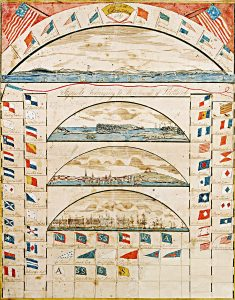 Lemuel Moody, Signals at Portland Lighthouse / 1807 / Signals Belonging to Merchants of Portland, 1807.