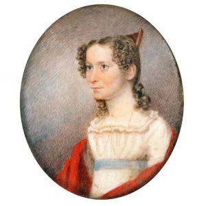 Unidentified artist, Mary Owen Elder, ca. 1817