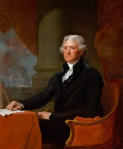 Gilbert Stuart, Thomas Jefferson, 1805–1807