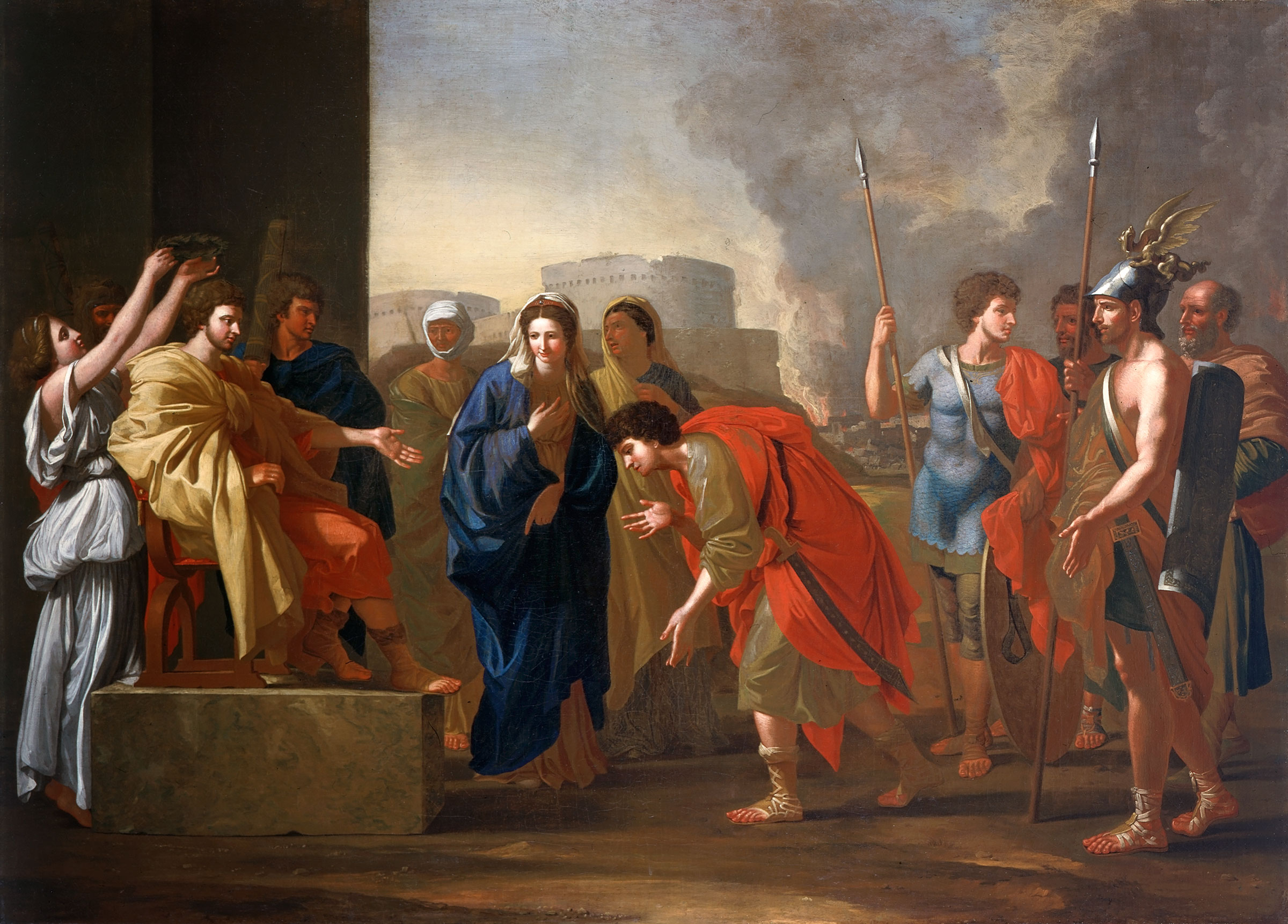 John Smibert, The Continence of Scipio, ca. 1719–1722