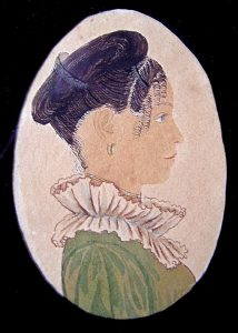 Attributed to Rufus Porter, Betsey Long, ca. 1815-1817