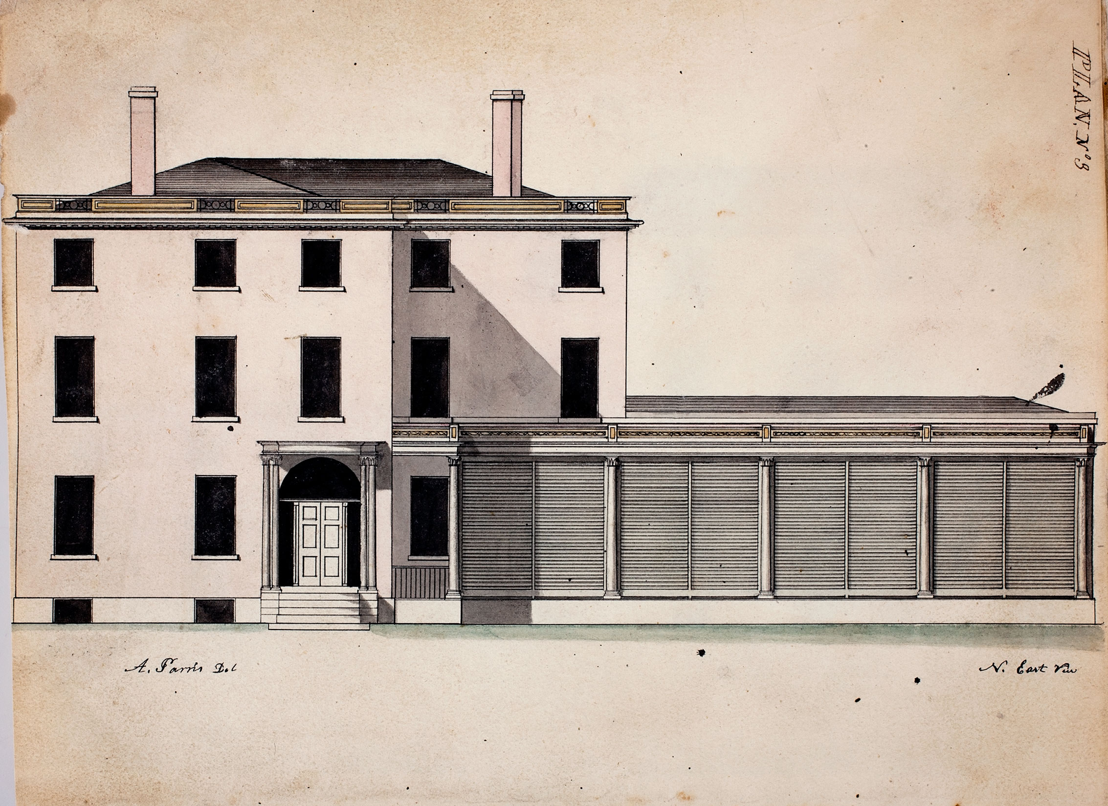 Alexander Parris, Edward Preble House, 1805