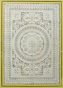 Geometric cutwork. c. 1830