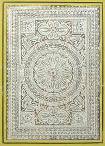 Geometric cutwork. c. 1830