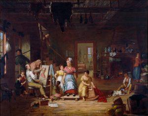 Charles Bird King, American, 1765-1862, The Itinerant Artist, ca. 1830