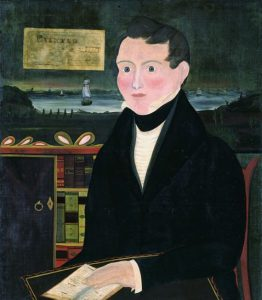 John Usher Parsons, American, 1806-1874, Self-Portrait, 1835