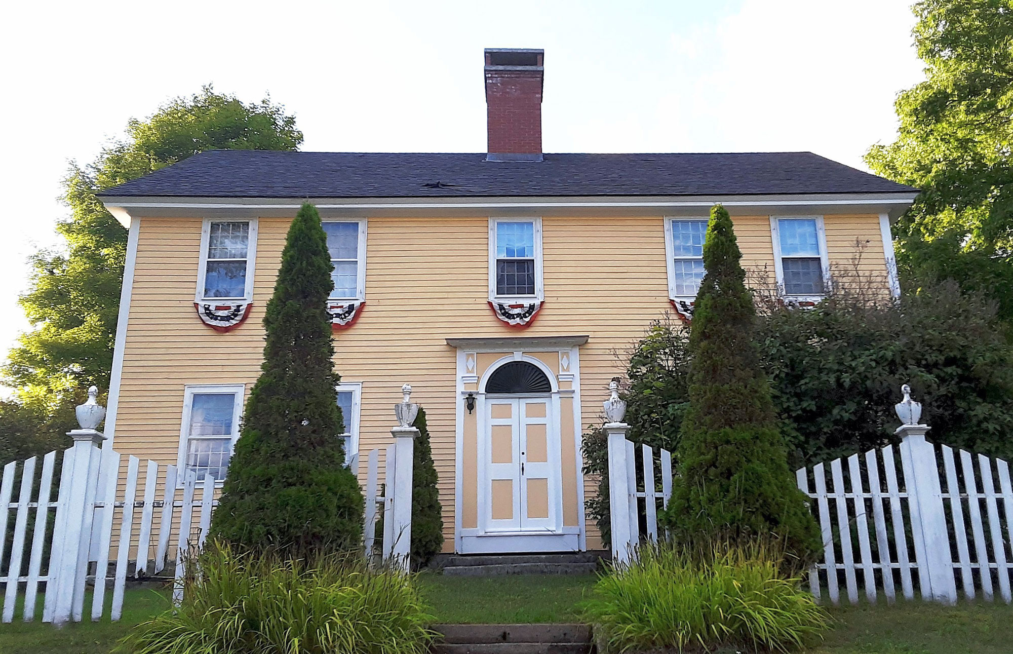 The Samuel Morse House, Croydon, New Hampshire, 1815