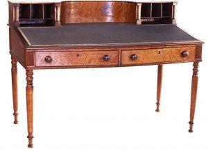 Desk, Porter Blanchard (1788-1871), Concord, New Hampshire, 1814