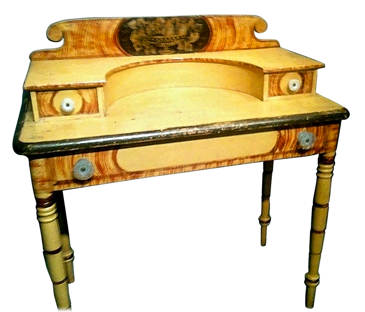 Dressing table, David Colby (active c. 1835), Croydon, New Hampshire, 1835