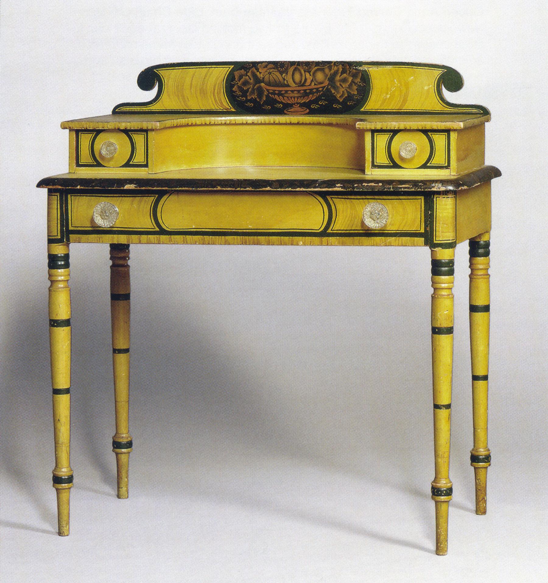 Dressing table, possibly David Colby or Willard Harris, Croydon, New Hampshire, c. 1835