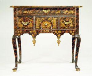 Dressing table, maker unidentified, Boston, Massachusetts, 1747