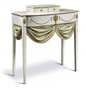 Dressing table, attributed to John Doggett (1780-1857) and Stillman Lathrop (d. 1853), Salem, Massachusetts, c. 1805