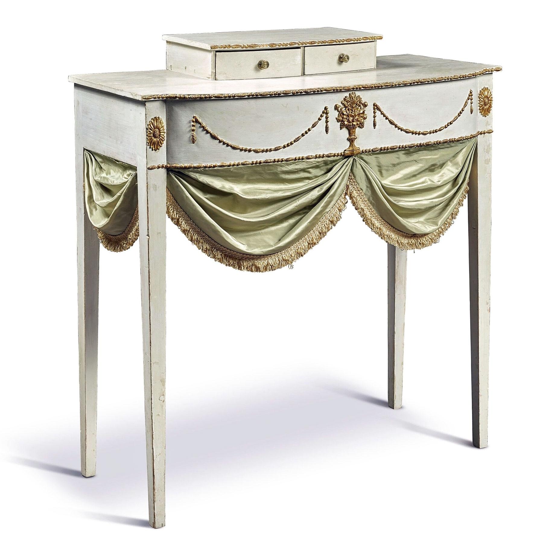 Dressing table, attributed to John Doggett (1780-1857) and Stillman Lathrop (d. 1853), Salem, Massachusetts, c. 1805