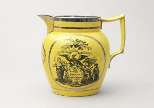 Pitcher, maker unidentified, England, Fig. 1800