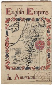 Thomas Earl, English Empire, from his 1727 copybook.