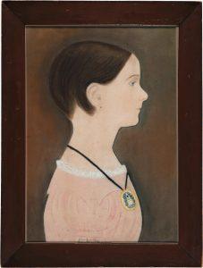 Ruth Henshaw Bascom (1772-1848), Portrait of Eliza Jane Fay, 1840