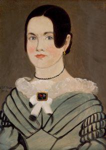 William Matthew Prior (American, 1806–1873), Portrait of Phebe Ann Carlton Hawes (Mrs. Philander Hawes) (1822–1881), Maine or Massachusetts, 1843