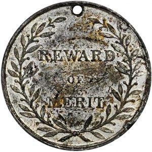 Reward of merit, American, ca. 1845